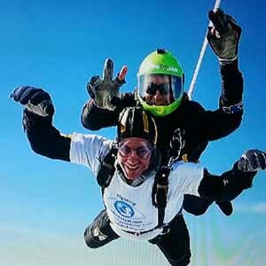Sky Dive for CHECT