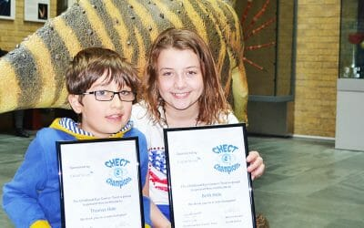 Brave brother and sister awarded as CHECT Champions