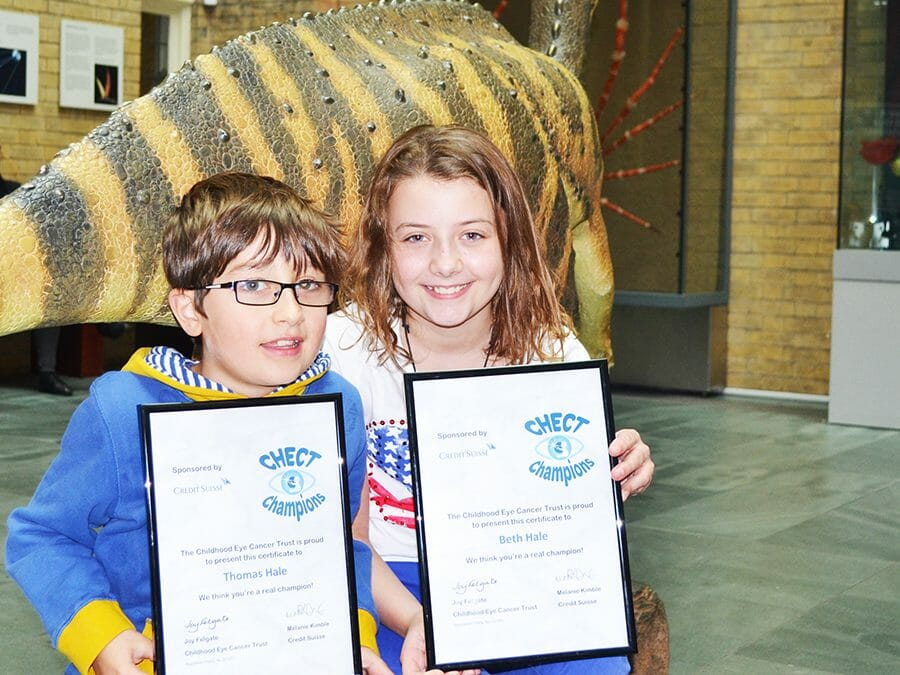 Thomas & Beth Hale Liverpool CHECT Champion