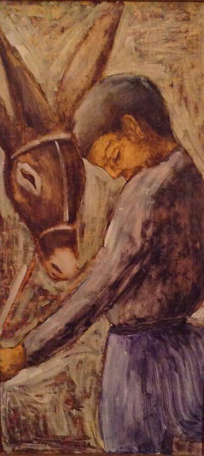 Xanthos Hadjisoteriou - Boy with Donkey