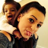 Image of Nia Delpratt and her daughter Nya now.