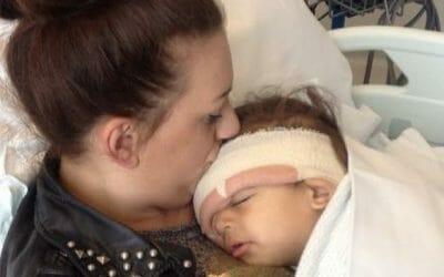 Mum urges parents to be more aware of retinoblastoma
