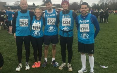 Team CHECT take on the Hampton Court Half Marathon