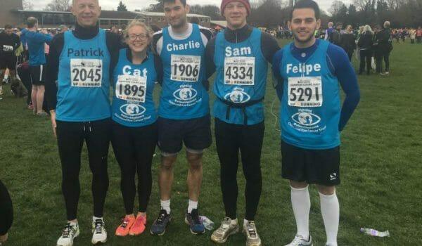 Team CHECT take on the Hampton Court Half Marathon