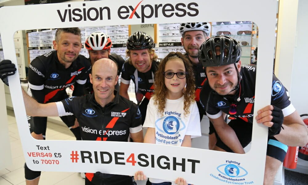 CHECT photo - Vision Express fundraising event