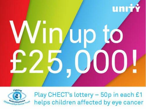 CHECT photo - Unity Lottery logo