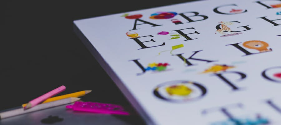 CHECT photo - stock photo of the alphabet
