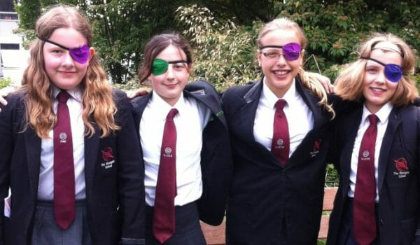 Charity eye patch day