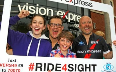 Vision Express Ride4Sight raises £25k