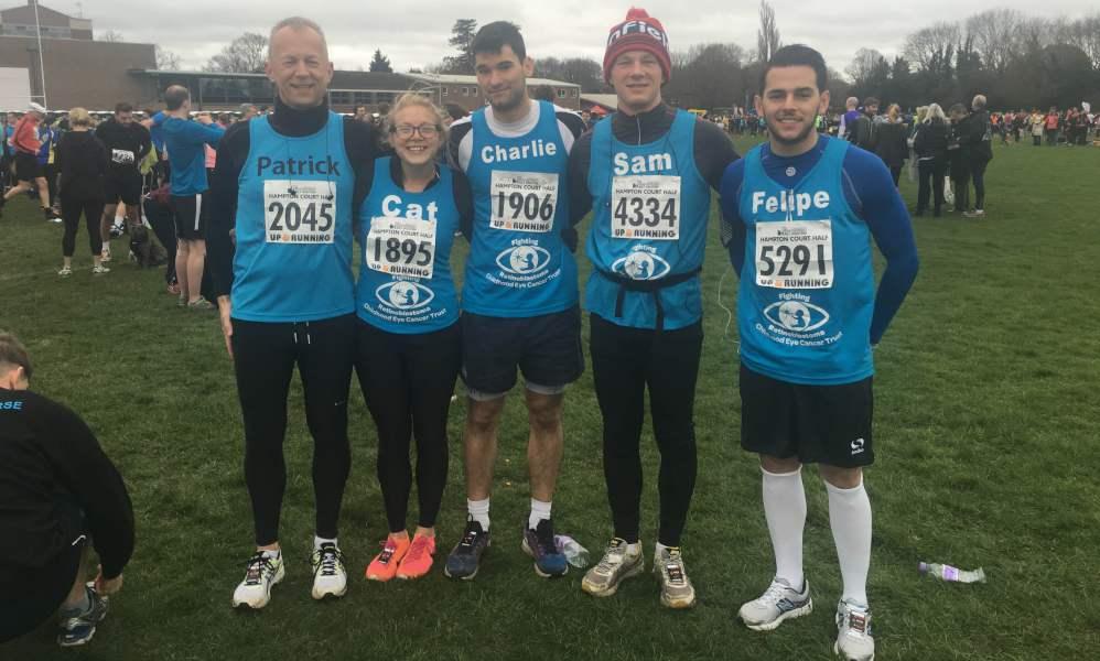 CHECT photo - Hampton Court Half Marathon