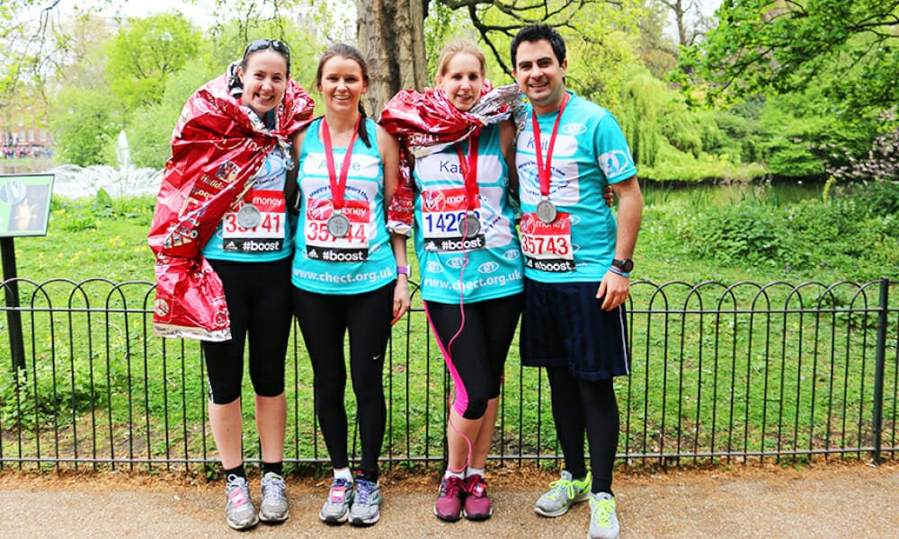 CHECT photo - London Marathon