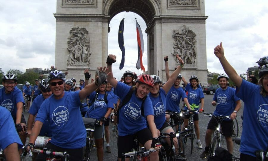 Cycle London to Paris with Team CHECT!