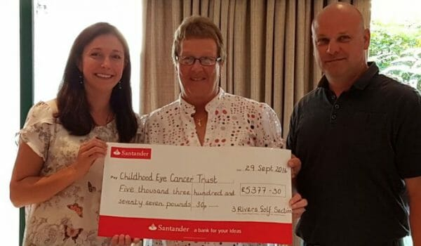 Golfers raise £5k for CHECT