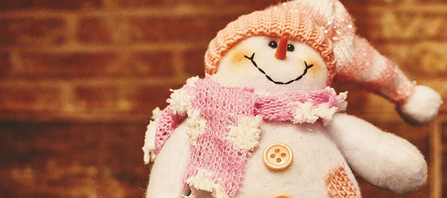 CHECT photo - toy snowman