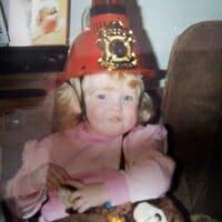 CHECT photo - Karen as a child