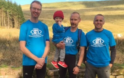 Team Harry take on the three peaks
