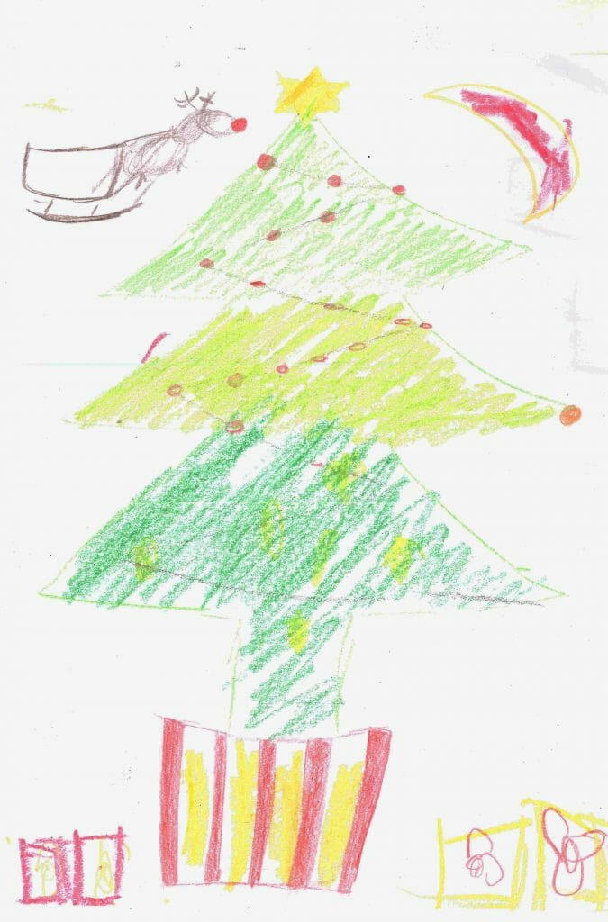 CHECT photo - Christmas eCard design