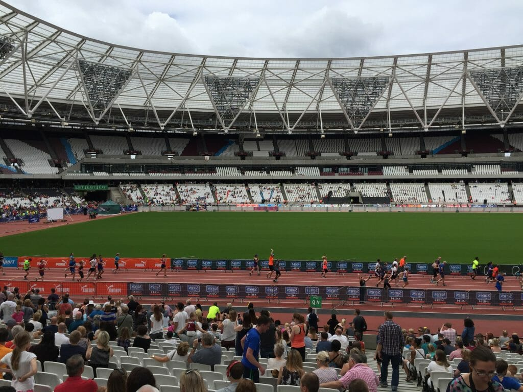 CHECT Photo - the Olympic Stadium in London
