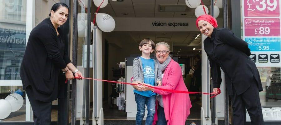 Drew-Alexander unveils revamped opticians