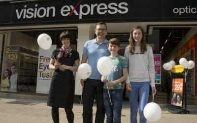 CHECT Ambassadors unveil new look Vision Express stores