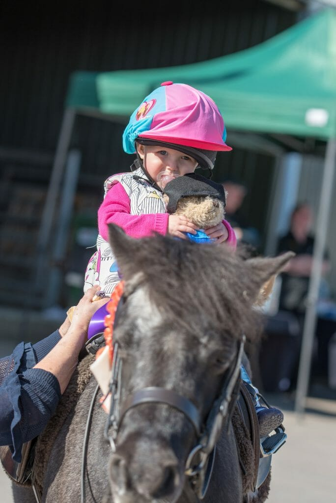 CHECT photo - Felicity Bone on the sponsored horse ride