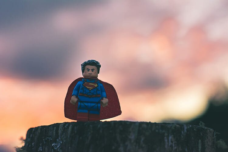 CHECT photo - lego superman figure
