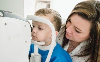 Back to school – children's eye tests