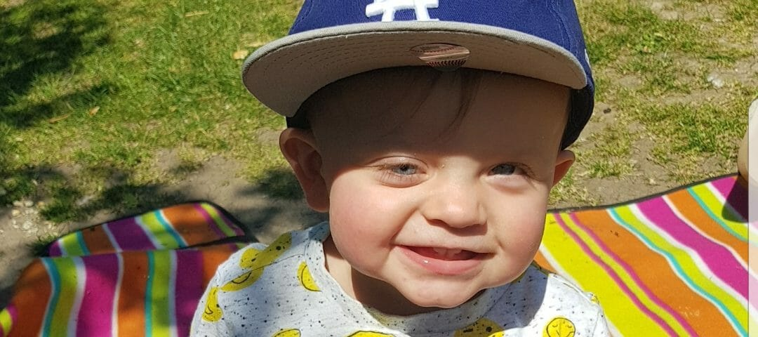 Ernie's retinoblastoma story – by his mum Keri