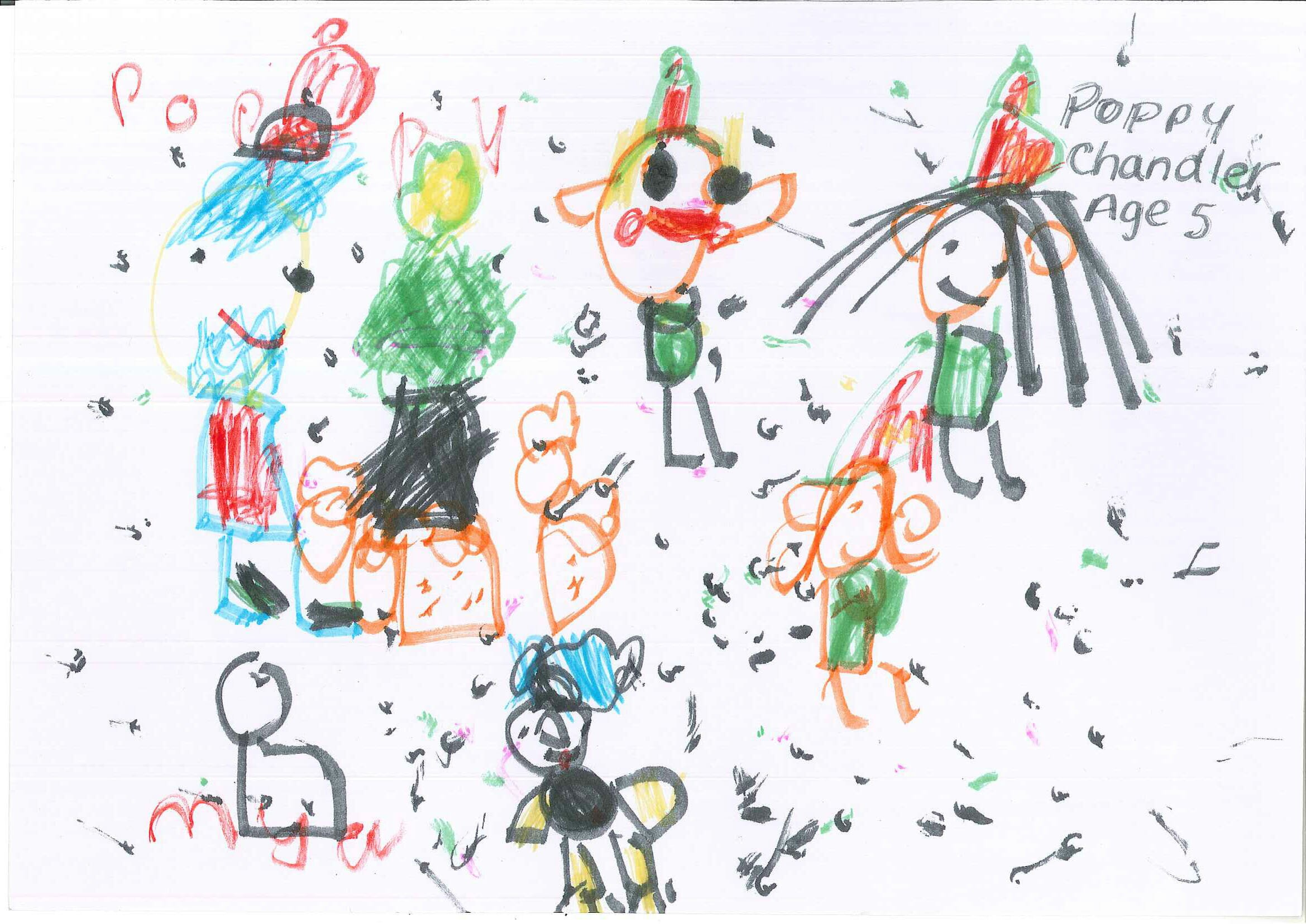 CHECT Christmas card competition - Poppy