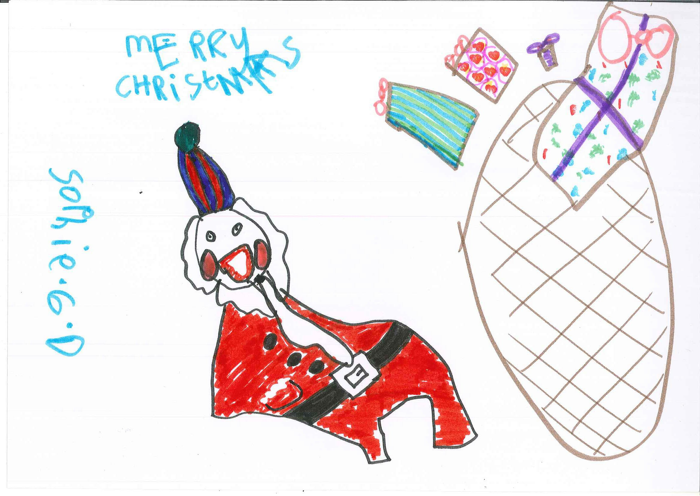 CHECT Christmas card competition - Sophie