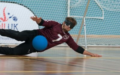 'I can't imagine my life without goalball'