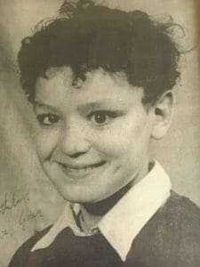 Greg Owens at age eight.