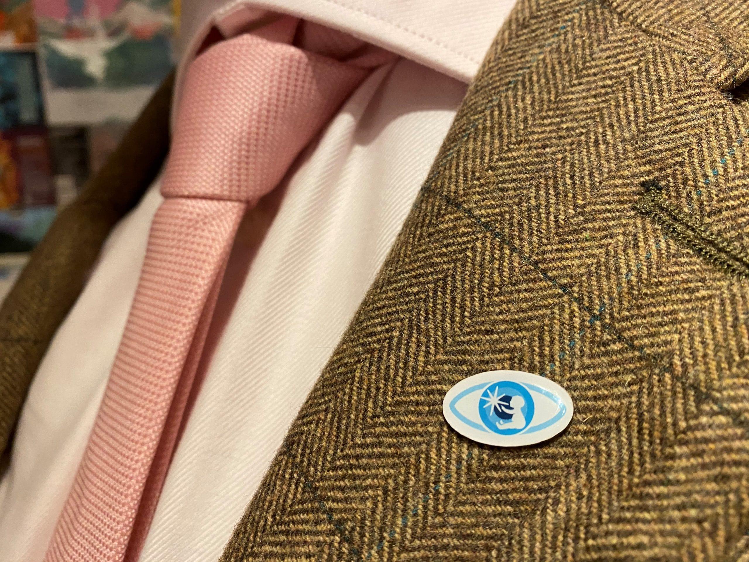 CHECT pin badge