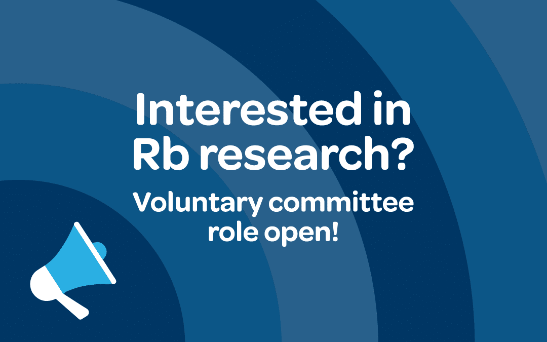 Adult who had Rb needed for voluntary role