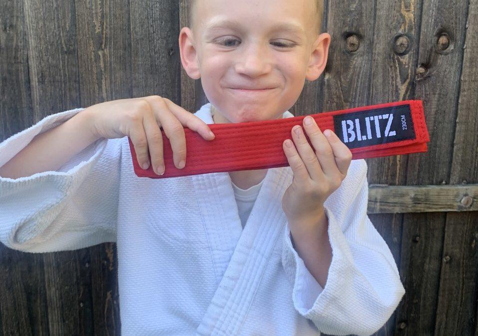 Potential Paralympian Jacob's Judo success
