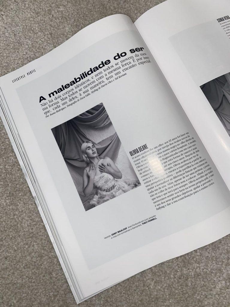 Olivia in Vogue Portugal